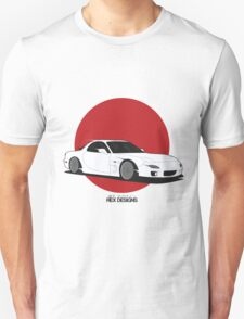 Mazda RX7 (Rising Sun) Unisex T-Shirt