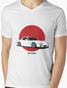 Mazda RX7 (Rising Sun) Mens V-Neck T-Shirt