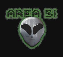 Area 51 Tee One Piece - Long Sleeve