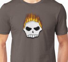 Flaming Skull Tee Unisex T-Shirt