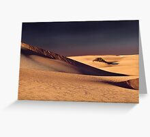 Sand Dune Mungo Greeting Card