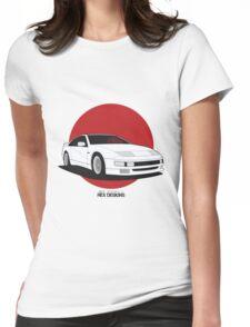 Nissan Fairlady 300ZX Z32 (Rising Sun) Womens Fitted T-Shirt