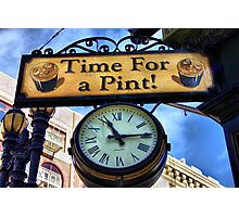 Pub Sign Photographic Print