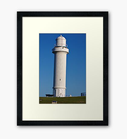 LIGHTHOUSE - WOLLONGONG - NEW SOUTH WALES Framed Print