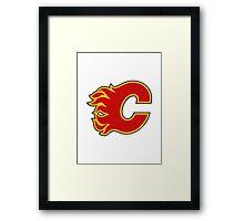Calgary Flames Framed Print