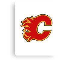Calgary Flames Canvas Print