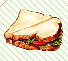 Lunch Room Sandwich by Kelly  Gilleran