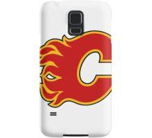 Calgary Flames Samsung Galaxy Case/Skin