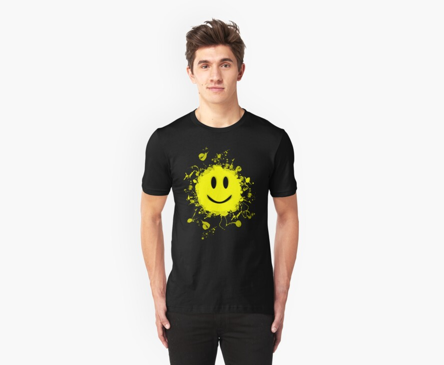 Smiley Splat! by BluAlien