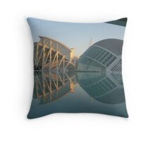 Science Hall & Planitarium, Valencia Spain Throw Pillow