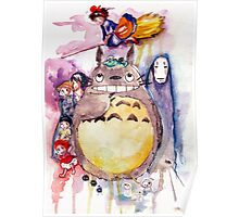 The Amazing Ghibli Poster