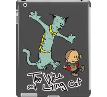 The Will and Lying Cat- SAGA / Calvin and Hobbes cross-over iPad Case/Skin