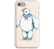 Bay Puft Marshmallow Max iPhone Case/Skin