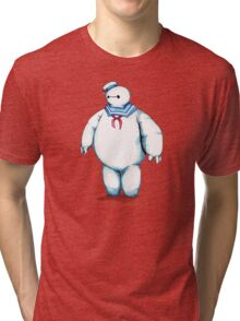 Bay Puft Marshmallow Max Tri-blend T-Shirt