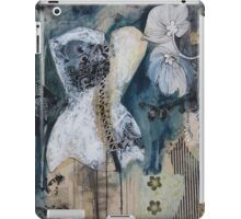 Black And White Corset iPad Case/Skin