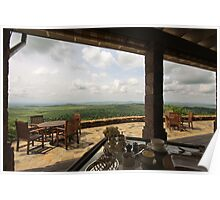 Breakfast with a View Poster