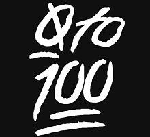 0 To 100 [White] Unisex T-Shirt