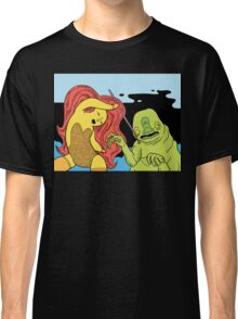 Warrior Princess on Miscellaneous Mission of Dire Consequences Classic T-Shirt