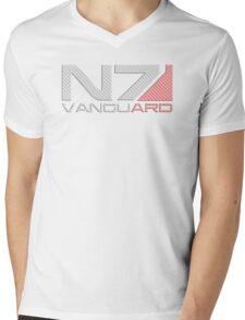 Carbon Fiber Vanguard Mens V-Neck T-Shirt