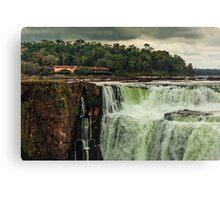 Iguazu Falls - The Top Canvas Print