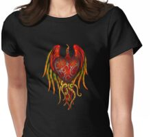 Heart - Radiant Tentacles Womens Fitted T-Shirt