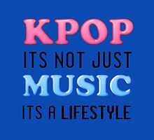 KPOP IS A LIFESTYLE - BLUE by CynthiaAd