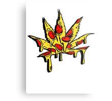 Mary J Pizza Metal Print