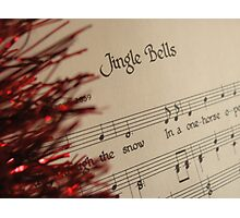 Christmas Sing-a-long Photographic Print
