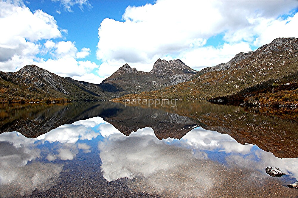 Cradle Mountain, Reflection, Tasmania by patapping