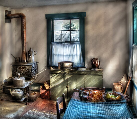 Old Fashioned Kitchen by Mike  Savad