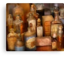 Cough Syrup Canvas Print