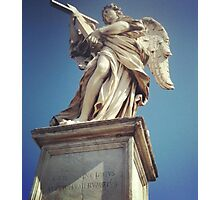 Roman Angel Photographic Print