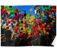 Balloon Bedlam Poster