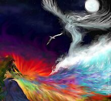 Colours Of The imagination: Symbolic Flows by Flynnthecat