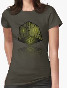 Runix Cube Womens Fitted T-Shirt