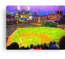Glorious Comerica Park Canvas Print