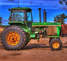 John Deere by Claire  Farley