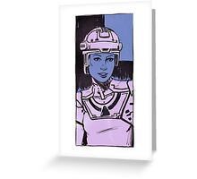Yori portrait Greeting Card