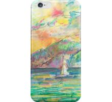 FINE DAY FOR A SAIL(C2010) iPhone Case/Skin