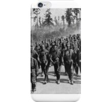 RUSSIAN TROOPS GOING TO THE FRONT - SUPPORTS FOR THE IMPERIAL GUARDS BEING HURRIED INTO THE FIGHTING LINE 1917 iPhone Case/Skin
