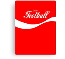 Enjoy Football Canvas Print