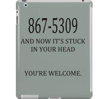 8675309 Jenny's Number  iPad Case/Skin