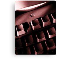 Mac keyboard Canvas Print