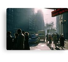 Corner of Collins and Elizabeth Streets Canvas Print