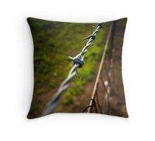 Barbs Throw Pillow