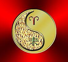 Aries & Goat Yin Metal by astrodesigner75