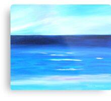 Sea Calm Metal Print