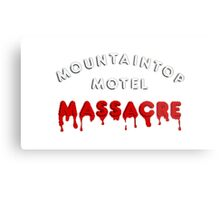 Mountaintop Motel Massacre (Main Title) Metal Print