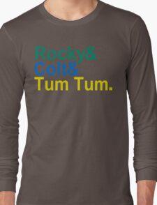 3 Ninjas Funny Geek Nerd Long Sleeve T-Shirt