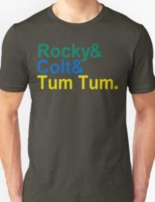 3 Ninjas Funny Geek Nerd Unisex T-Shirt